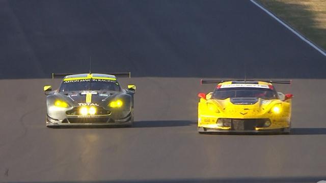 Le Mans Coach: Porsche #2 fährt mit einem dicken Hals