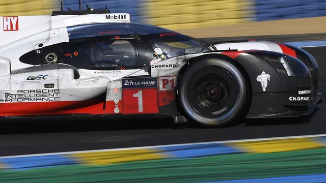 Et la Porsche n°1 a tout perdu...