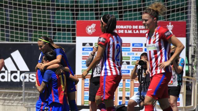 El Barcelona, campeón de la Copa de la Reina (4-1)