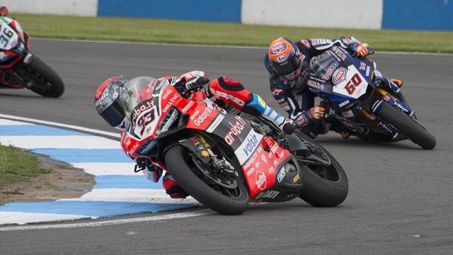 Melandri completes Italian century as Rea extends lead