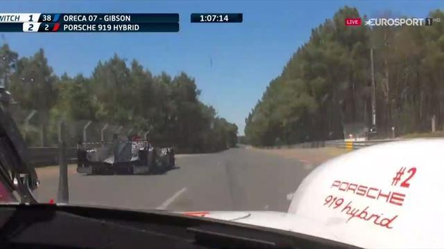 24 Horas de Le Mans: Porsche vuelve a liderar la carrera a una hora del final