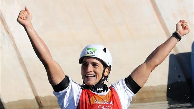 Maialen Chourraut se cuelga otra medalla de oro en Praga