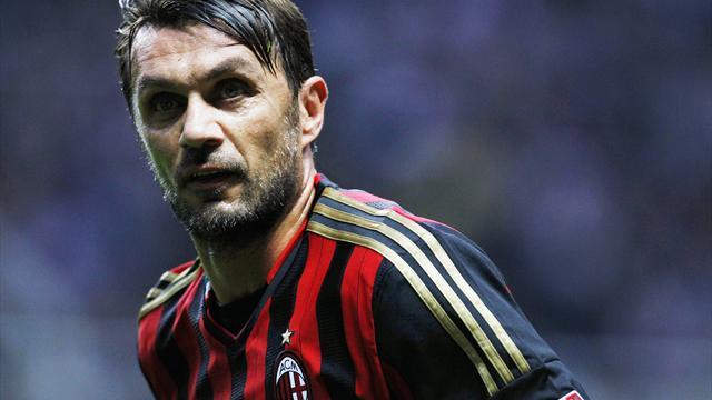 Als Tennisspieler: Maldini kehrt nach Mailand zurück