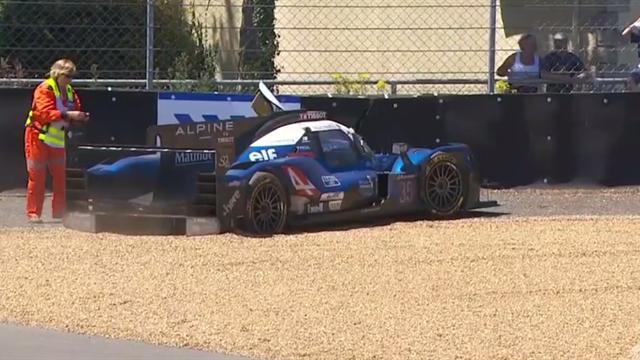 Et si l'Alpine n°35 ratait le podium sur cette sortie de piste...
