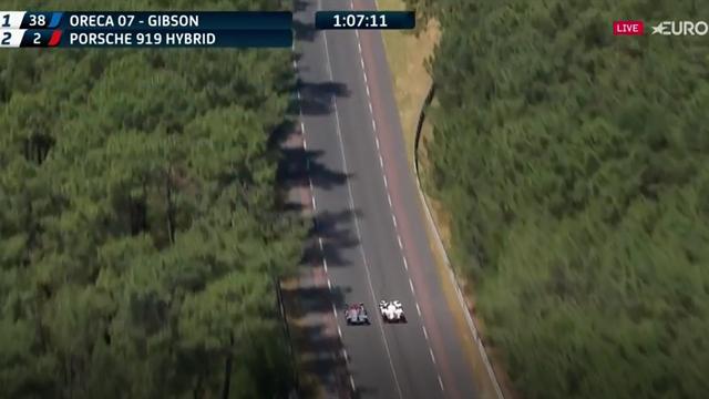 Ora X a Le Mans: il sorpasso della Porsche #2