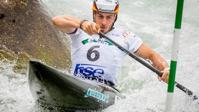 Kanu-Slalom: Tasiadis siegt beim Weltcup-Auftakt in Prag, Funk holt Bronze