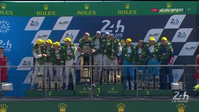 24 Horas de Le Mans: El podio final que agranda la leyenda de Porsche