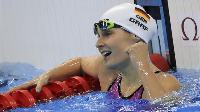 Graf schwimmt in Rekordzeit zum WM-Ticket