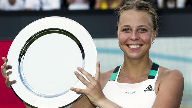 Kontaveit wins first title in Den Bosch