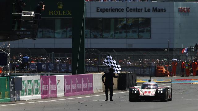 Le dernier tour de la n°2 : le triomphe de Porsche