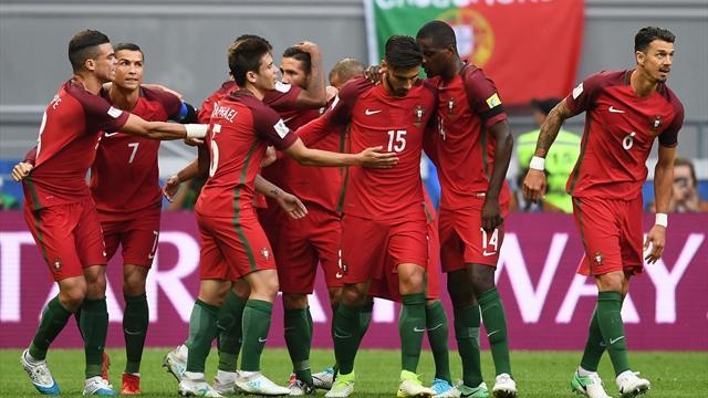 Мексика спаслась в матче с Португалией в добавленное время