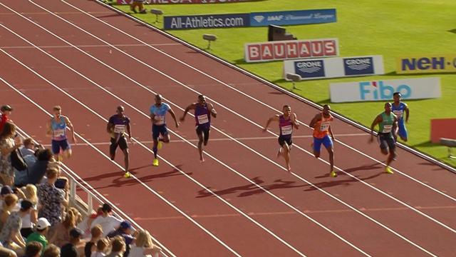 De Grasse clocks incredible 9.69 in Stockholm 100m