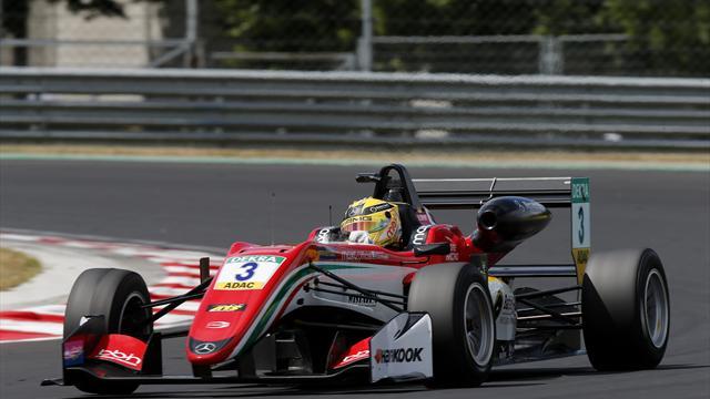 Formel 3: Günther verliert Gesamtführung, Schumacher verpasst die Punkte