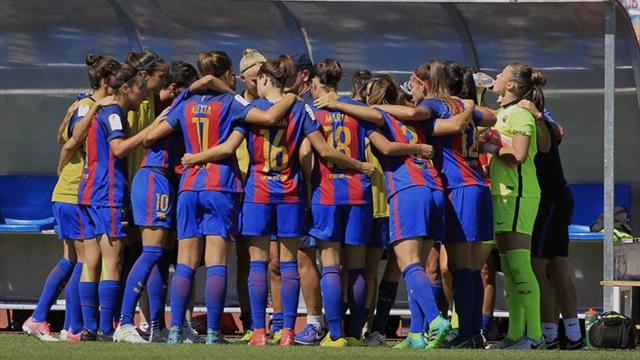 4-1. El Barcelona, campeón de la Copa de la Reina