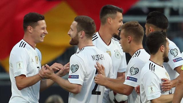 """Pour Draxler, cette Allemagne """"n'est pas une équipe B"""""""