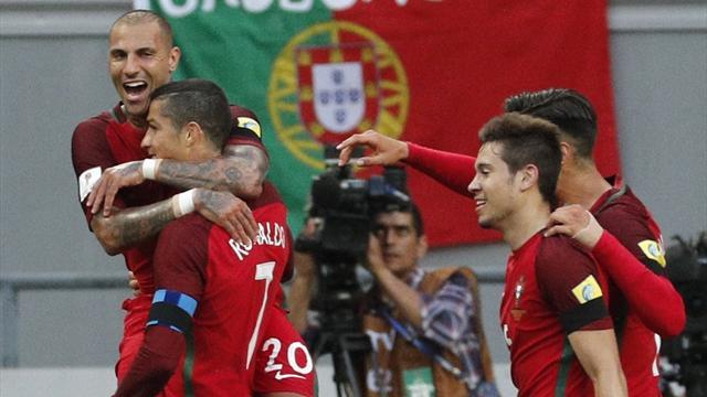 El gol de Héctor Moreno en el descuento, evita la victoria de la Potugal de Cristiano (2-2)