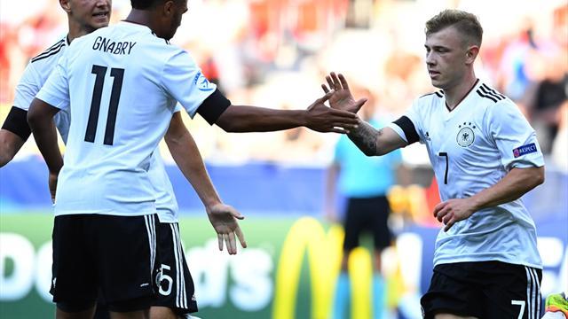 Meyer und Gnabry treffen: U21 gelingt starker EM-Start