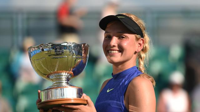 World number 70 Vekic stuns home hope Konta to lift Aegon Open in Nottingham