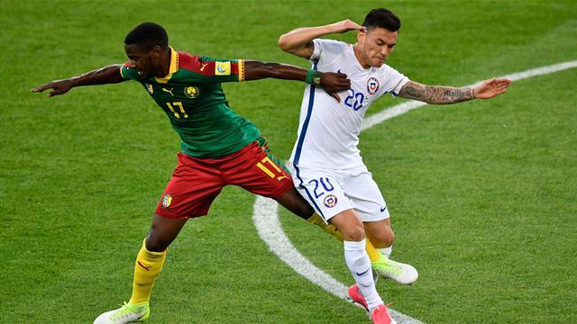 Чилийцы обыграли Камерун и возглавили группу
