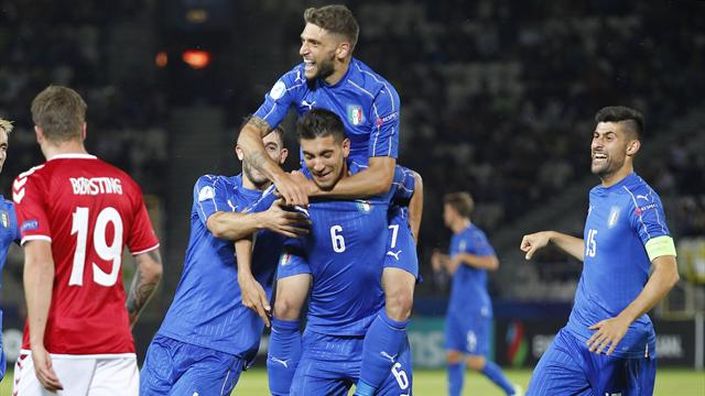 In Polonia è subito grande Italia: Pellegrini e Petagna stendono la Danimarca