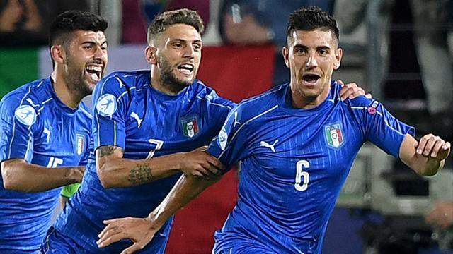 Gruppengegner Italien startet mit Sieg in U21-EM