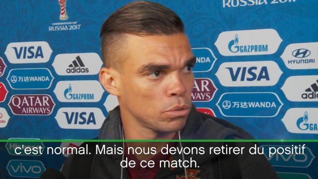 """Pepe : """"Un nul avec un goût de défaite"""""""