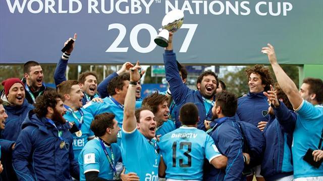Uruguay vence a España y se corona por primera vez en la Copa de Naciones