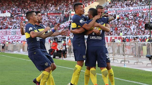 Boca Juniors quedó a un paso del título en el fútbol argentino