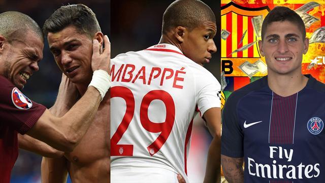 Cristiano, Florentino, Mbappé y Verratti, los nombres del día
