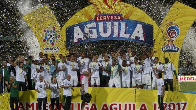 5-1. Atlético Nacional campeón de la liga colombiana tras golear al Cali