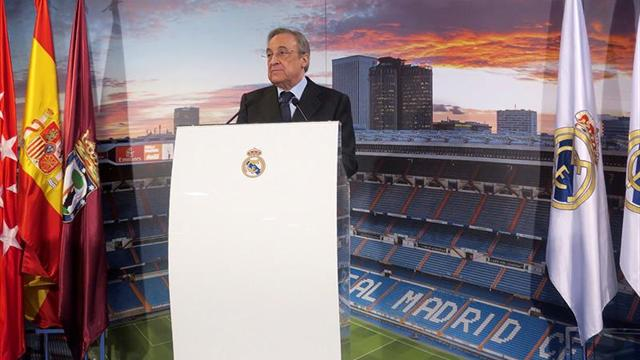 Florentino Pérez, reelegido como presidente del Real Madrid
