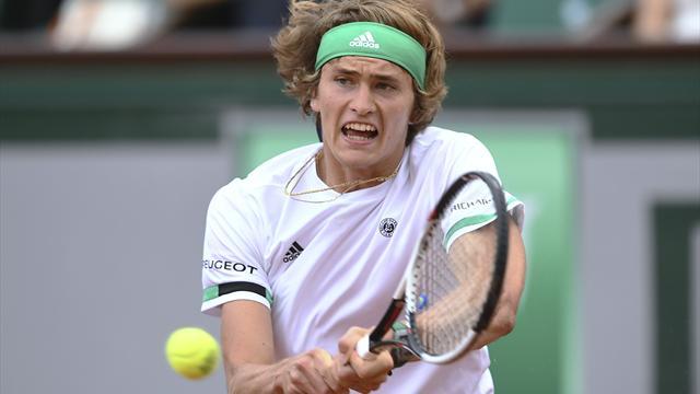 Zverev rutscht aus den Top Ten der Weltrangliste