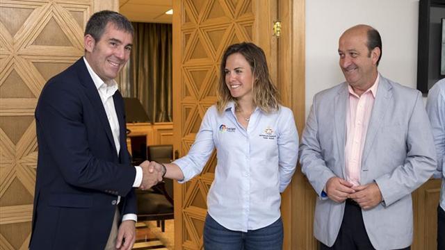 Tara Pacheco pide apoyo a Clavijo para poder preparar los Juegos de Tokio