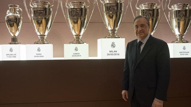 Perez bleibt Präsident von Real Madrid