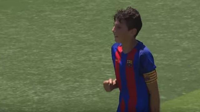 El asombroso gol de un alevín del Barça que no puedes perderte y otras noticias antes de comer
