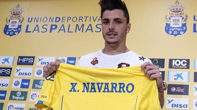 """Ximo Navarro eligió la UD Las Palmas porque el equipo """"va a más"""" cada temporada"""