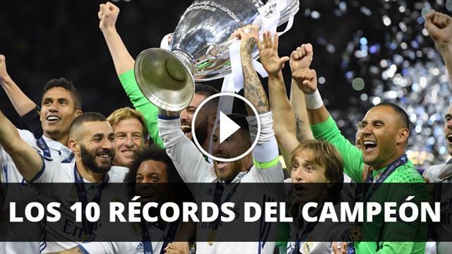 Los 10 récords del Real Madrid súper campeón