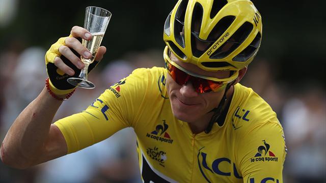 Фрум в четвертый раз выиграл «Тур де Франс»