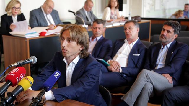The Independent: Модричу грозит 5 лет тюрьмы за дачу ложных показаний