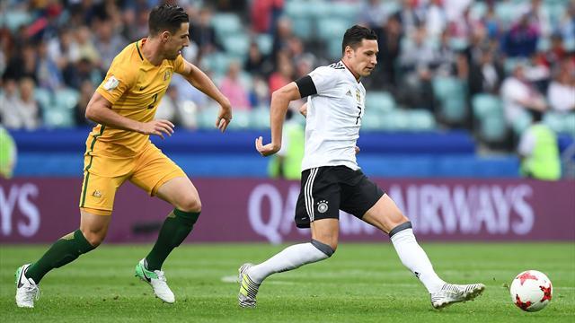 Mit Licht und Schatten: Deutschland schlägt Australien zum Auftakt