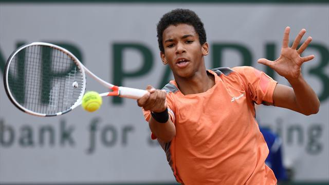 Felix Auger-Aliassime, 16 ans et déjà sur les traces de Nadal et Djokovic