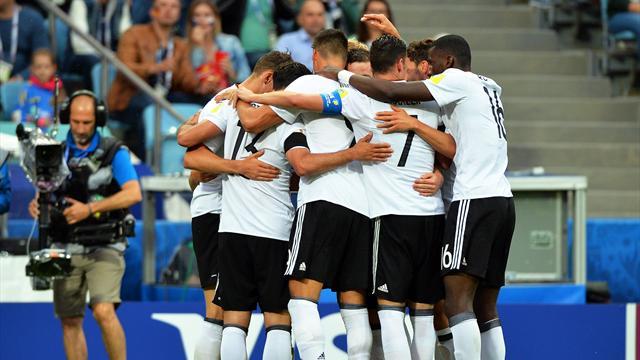 Copa Confederaciones, Australia-Alemania: Sufrido triunfo de la Campeona del Mundo (2-3)