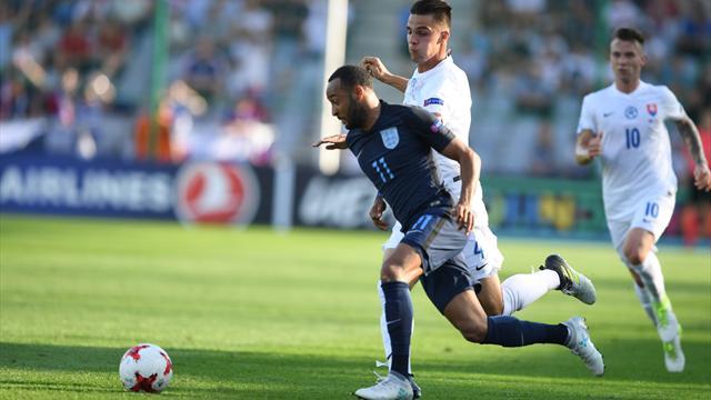 Slovacchia-Inghilterra 1-2: Mawson e Redmond firmano una rimonta pesantissima