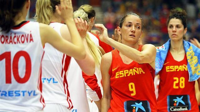 67-63. España se despide con derrota de la fase de grupos frente a las anfitrionas