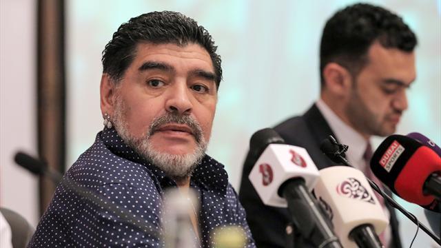 """Maradona: """"Messi no es mucho mejor que Cristiano"""""""