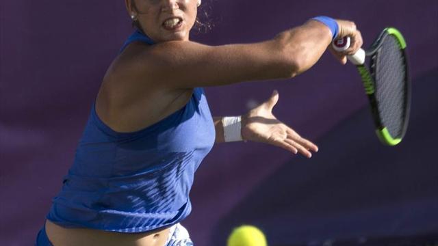 Suspendido en el tercer set por falta de luz el Sorribes-Pavluychenkova