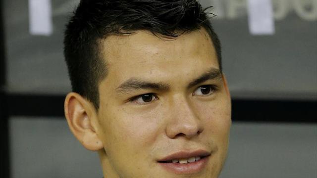 El mexicano Hirving Lozano, nuevo jugador del PSV Eindhoven