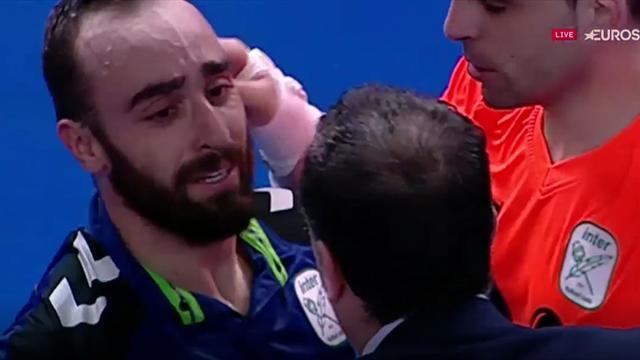 Final LNFS, Movistar Inter-Barcelona: Las lágrimas de Ricardinho tras conseguir el título