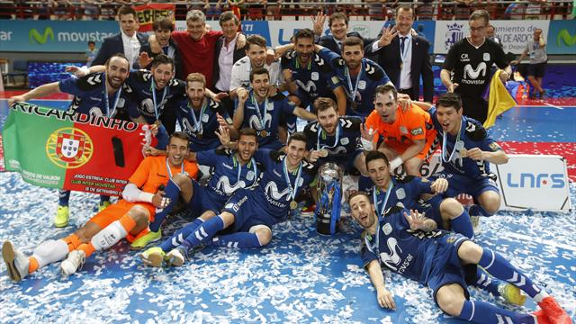 Inter Movistar firma un triplete histórico
