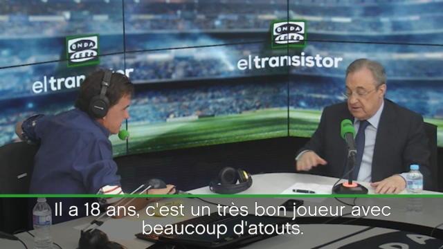 """Perez : """"Mbappé ? Un très bon joueur avec beaucoup d'atouts mais..."""""""
